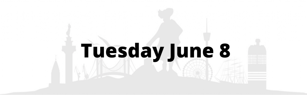 Tuesday June 8