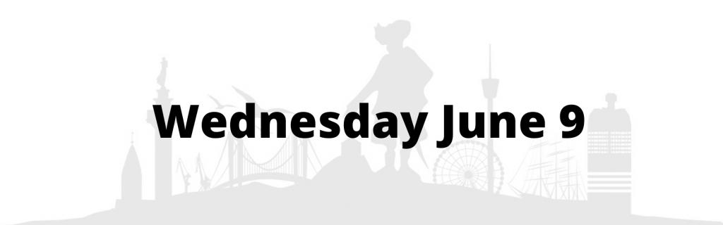 Wednesday June 9